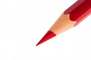 Wir haben spitze Stifte.